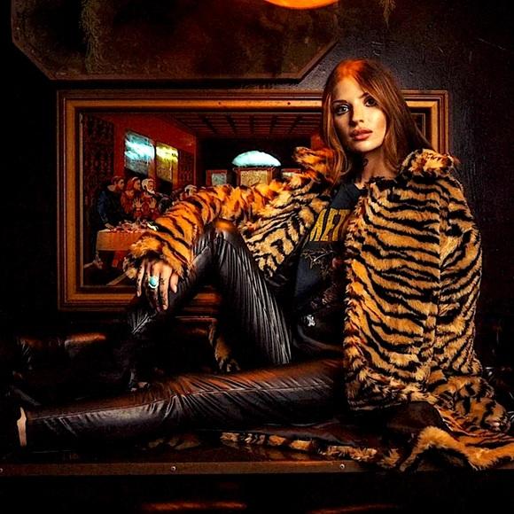 """BIG PIMPIN"" Plush Tiger Print Fur Teddy Coat"
